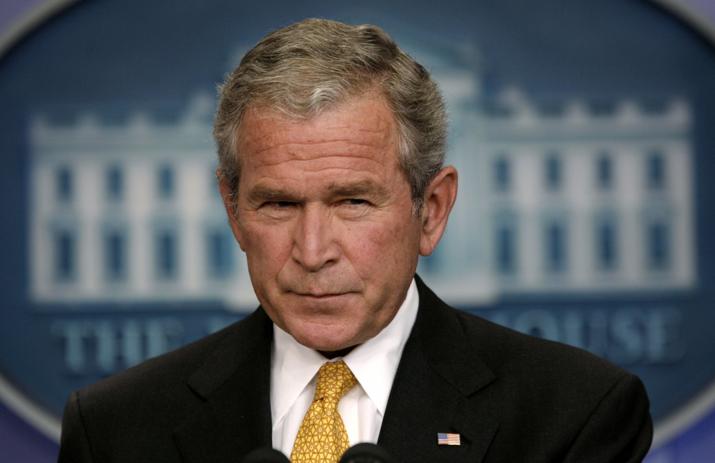 the many reasons why is president george bush jr seen in a negative light Us president george w bush looks out the window of air force one 31 august  polls at the time bear out this negative assessment see how they run.
