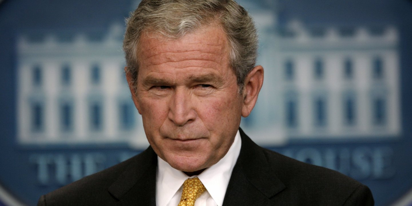 President Bush Confesses Hes War >> The George W Bush White House Lost 22 Million Emails