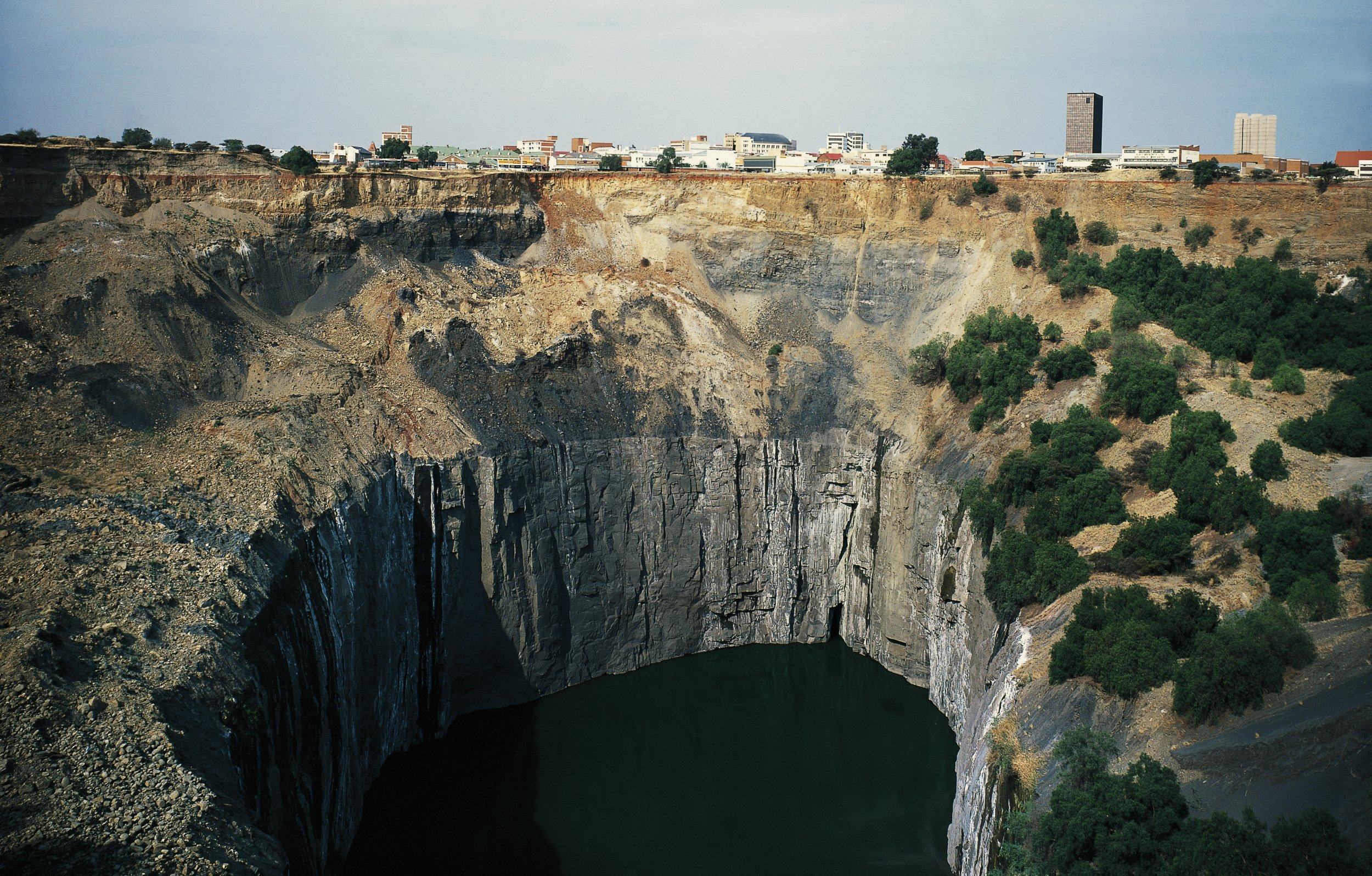 The Big Hole, a diamond mine in South Africa