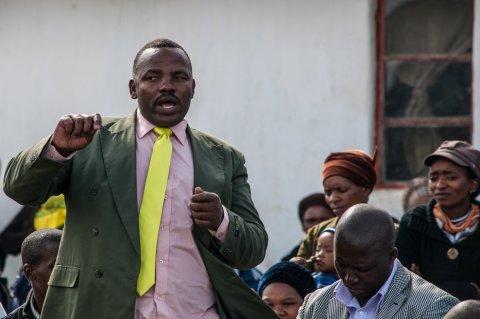 Anti-mining activist Sikhosiphi 'Bazooka' Rhadebe