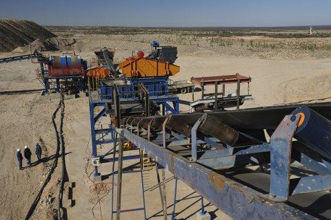 Saxondrift diamond mine