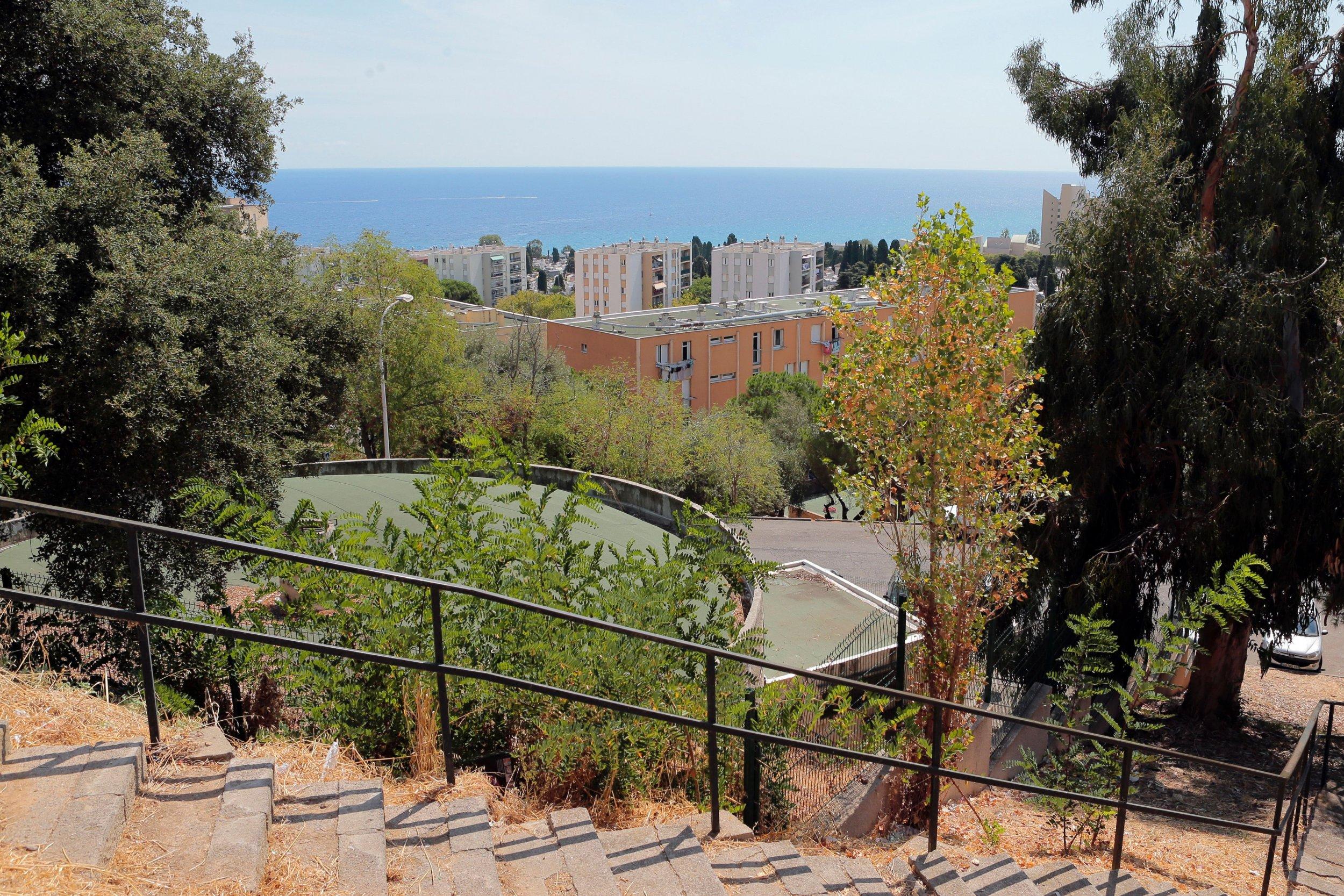 The Lupino district of Bastia, Corsica.