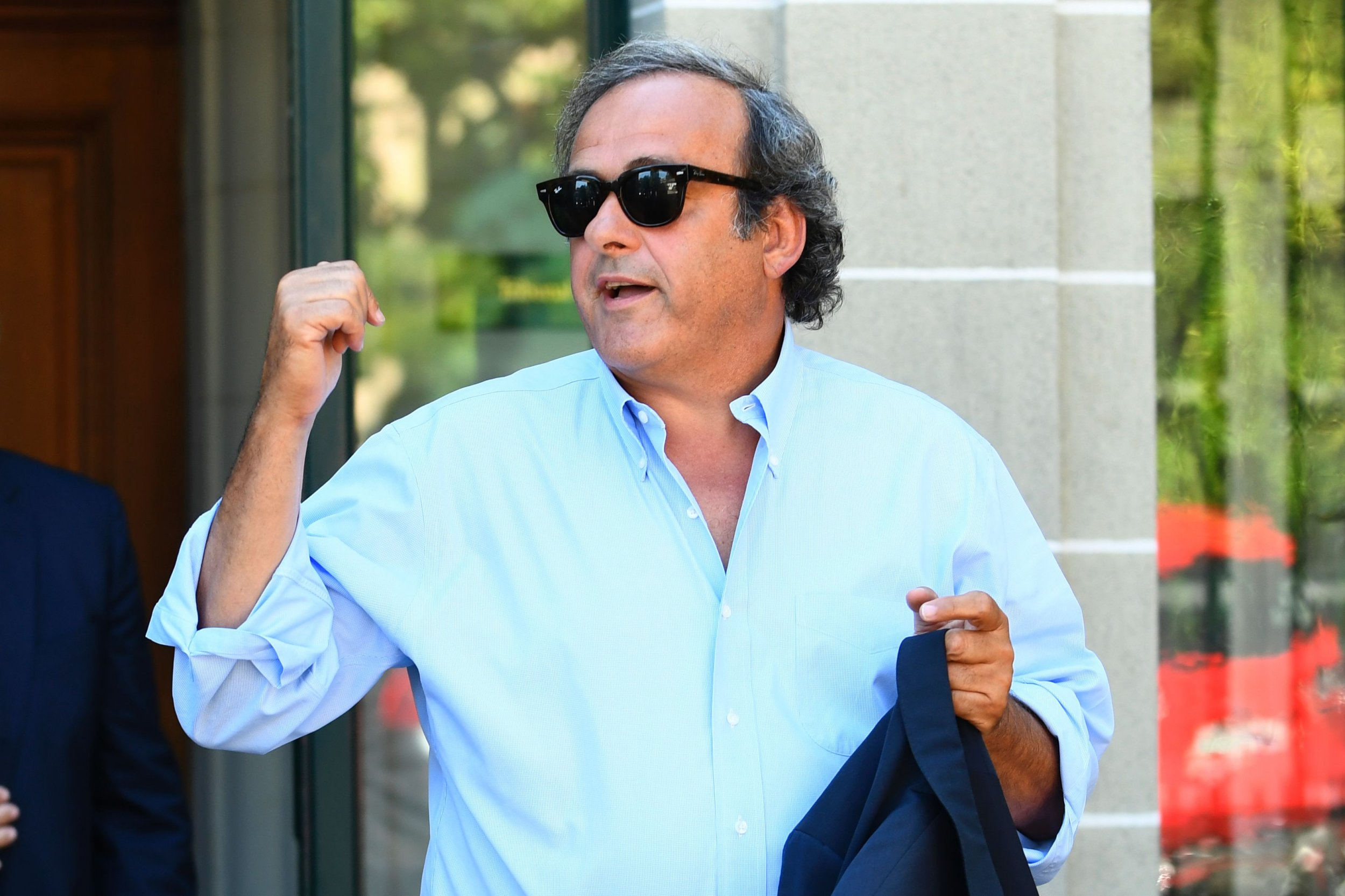 Ex UEFA President Michel Platini.