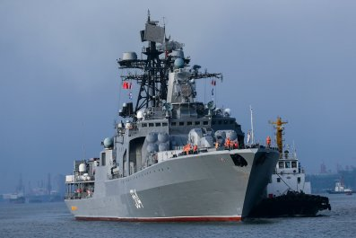 Russian ships in South China Sea