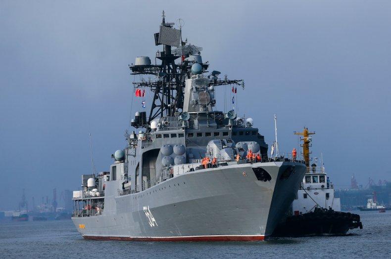 Russian ships in South China Sea