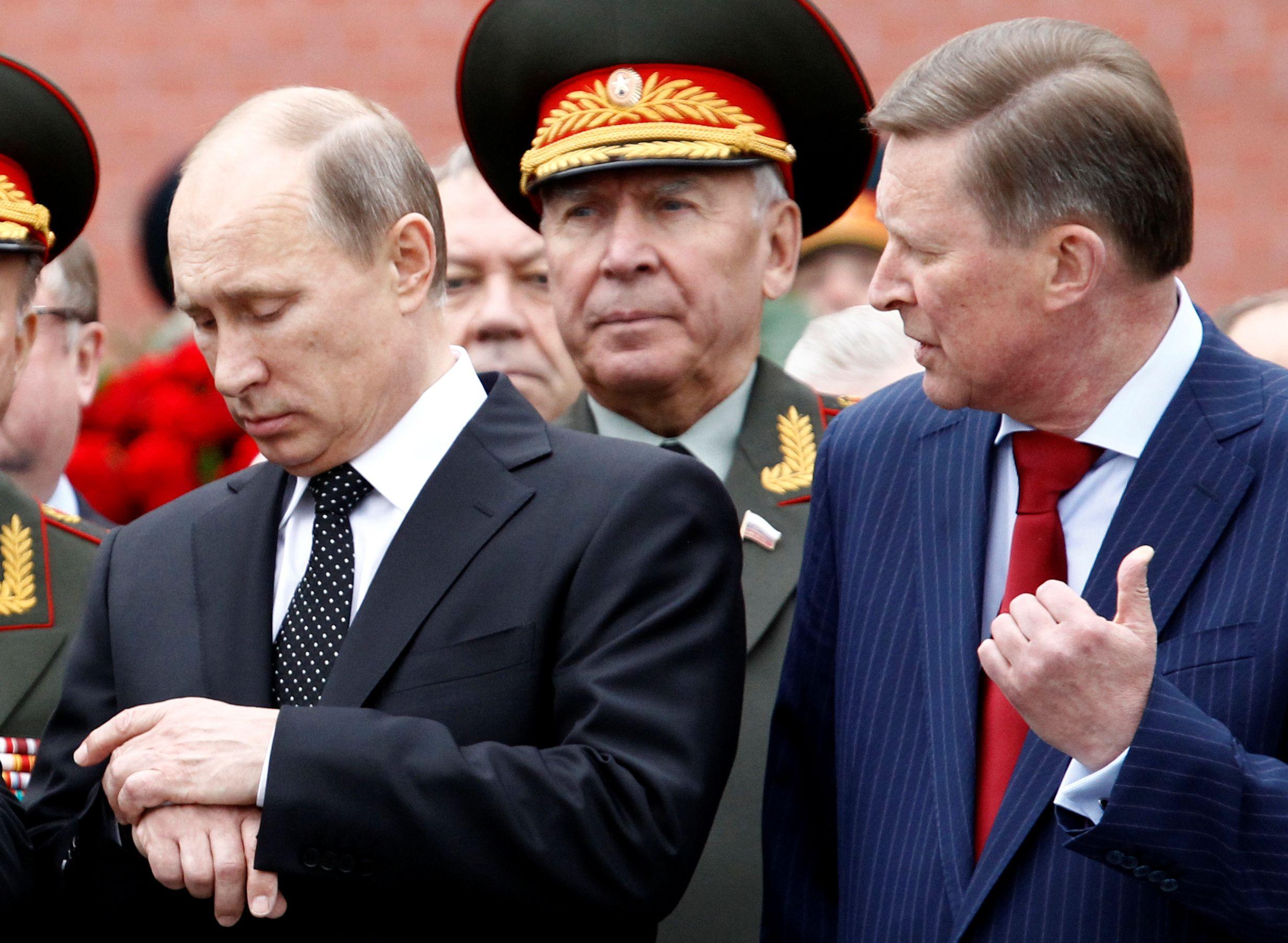 Putin and Ivanov