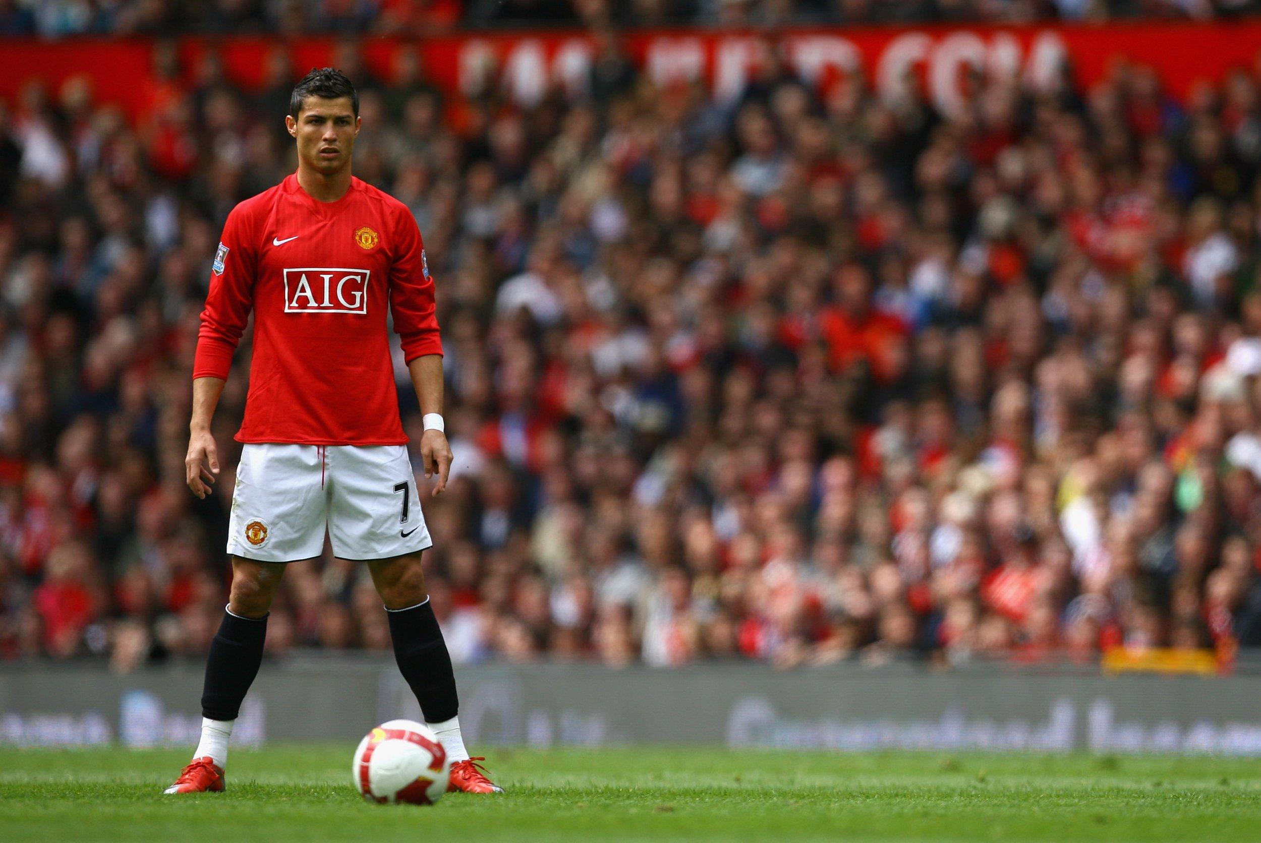 Cristiano Ronaldo Manchester United S Marcus Rashford Idolized