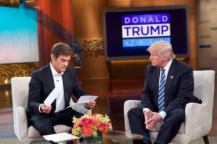 Dr-Oz-Donald-Trump