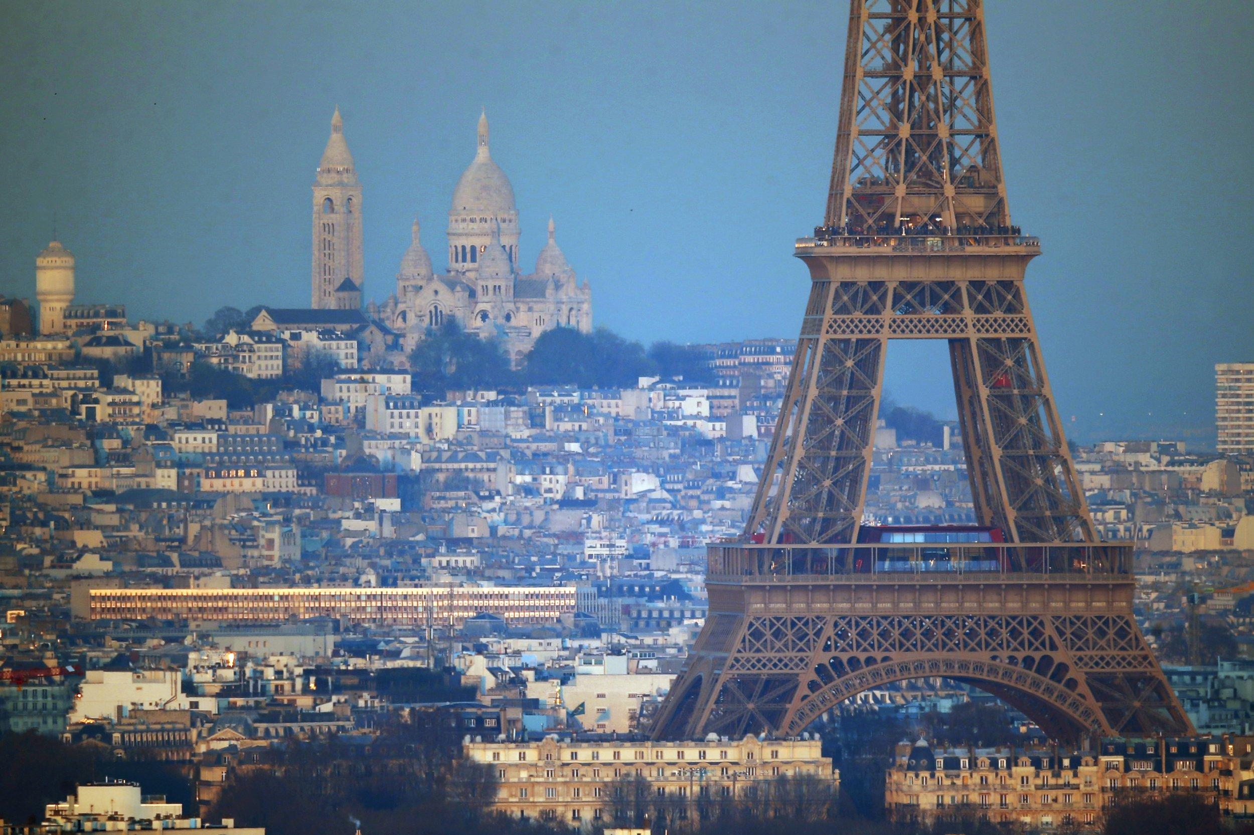Paris's Sacre Coeur