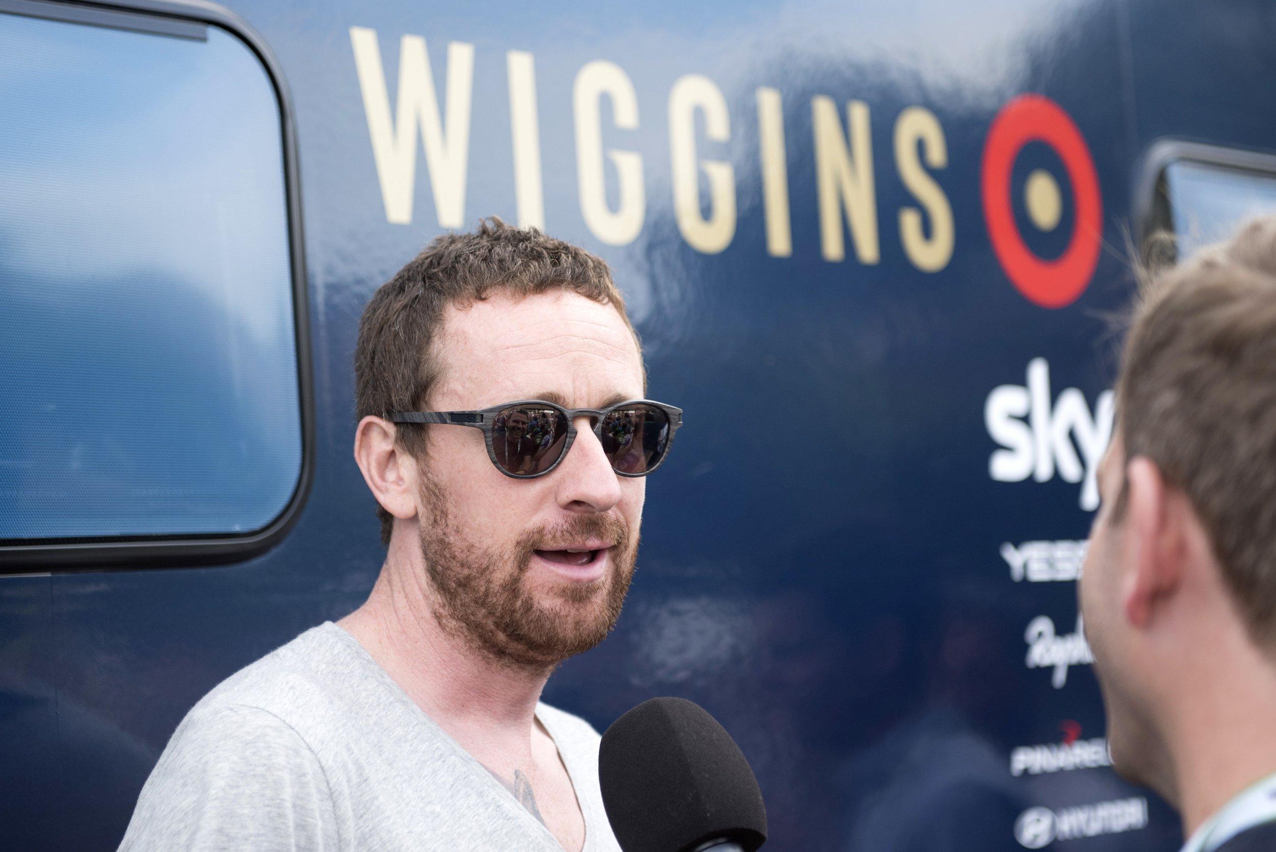 Tour de France winning cyclist Sir Bradley Wiggins