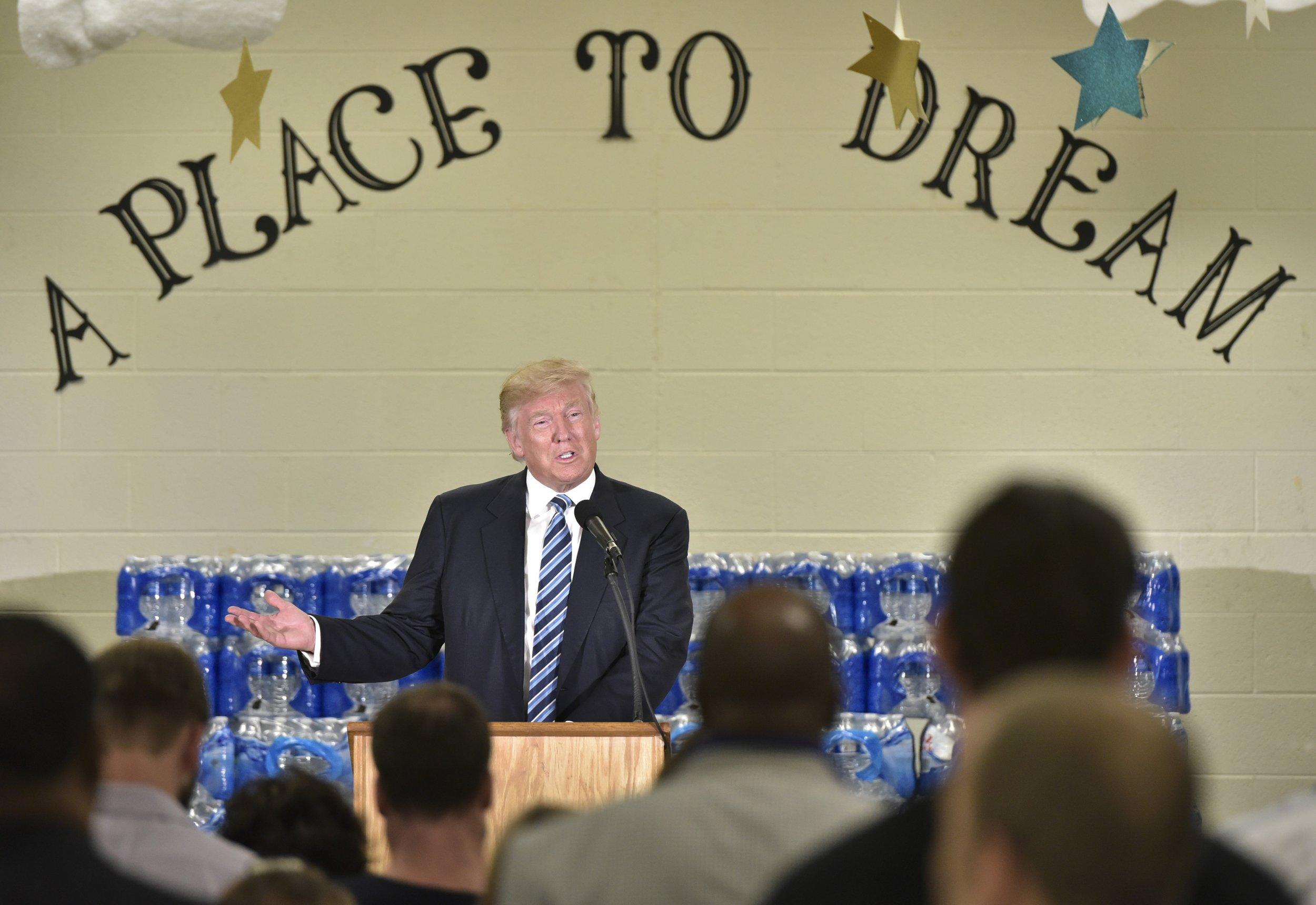 Donald Trump in Flint