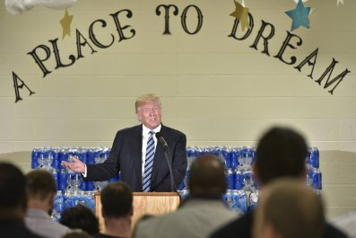 Donald Trump in Flint