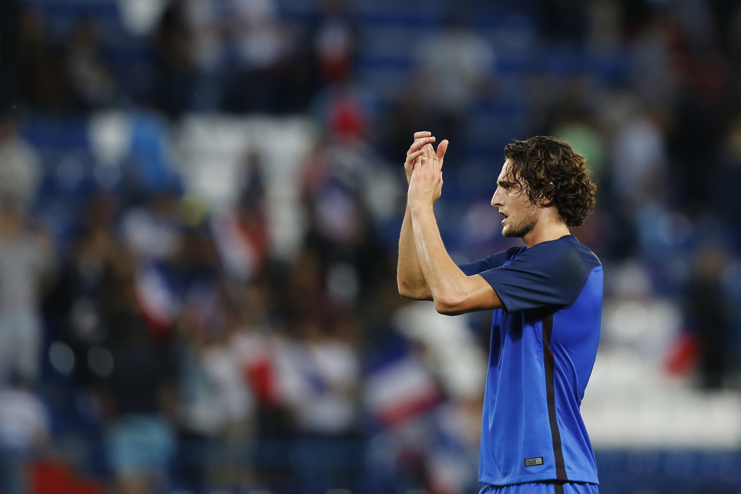 Paris Saint-Germain star Adrien Rabiot