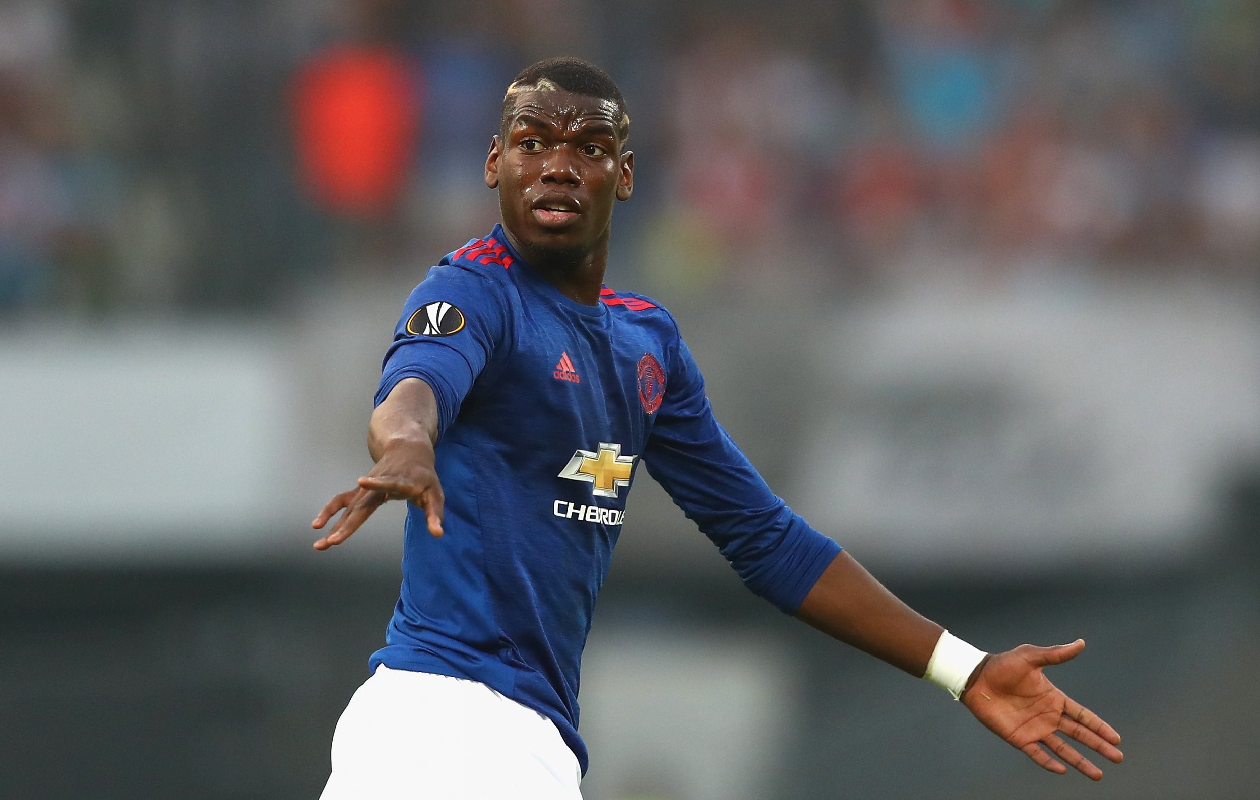 Manchester United star Paul Pogba.