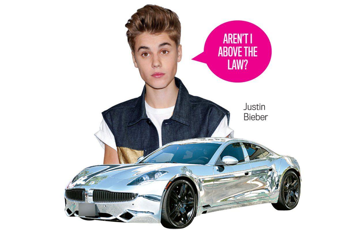 Pop Stars In Chrome Cars