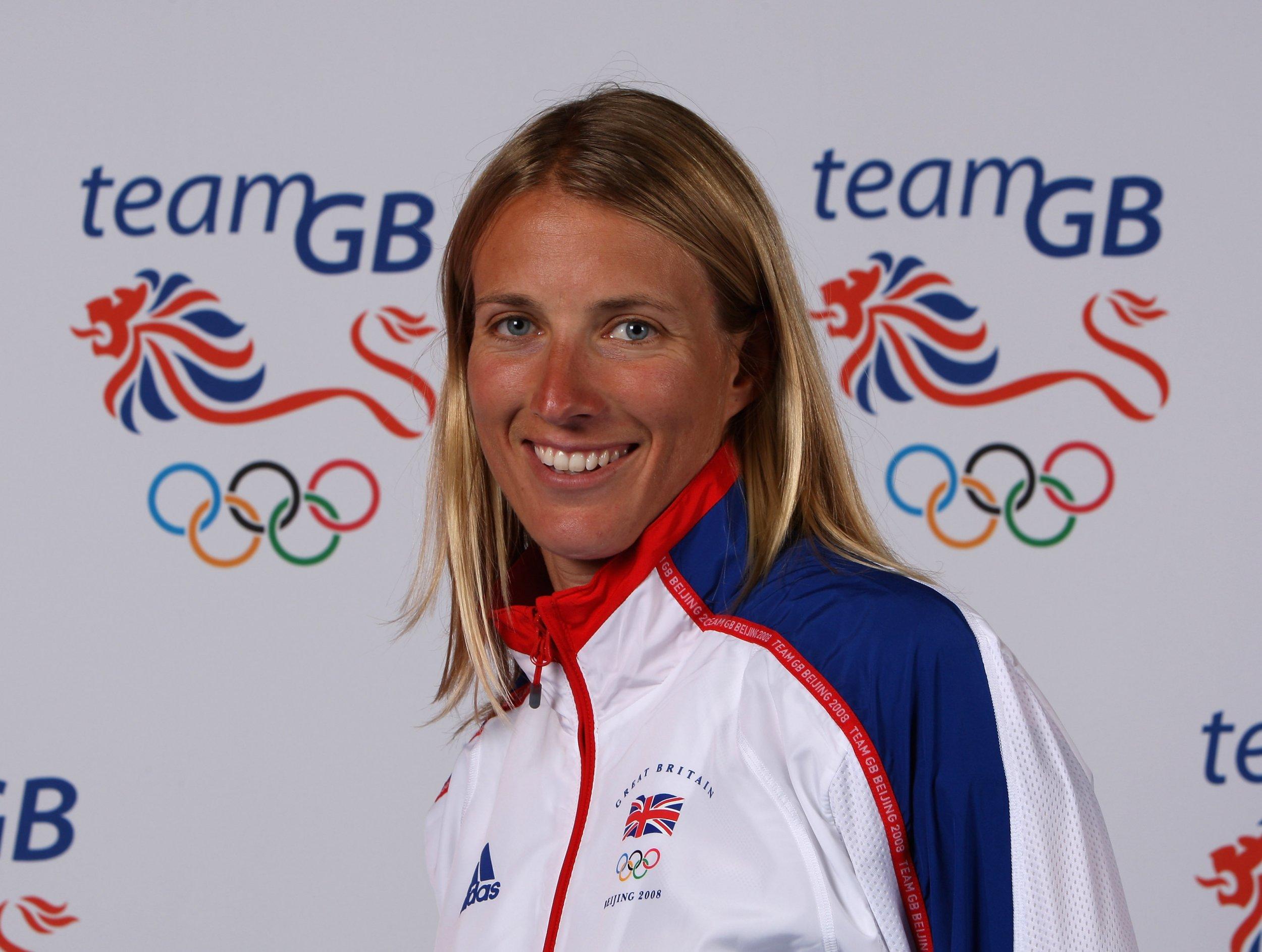 British gold medal-winning sailor Saskia Clark.