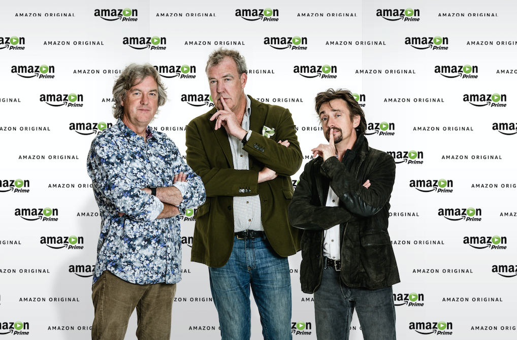 Amazon's 'Grand Tour' Car Show Will Launch in November