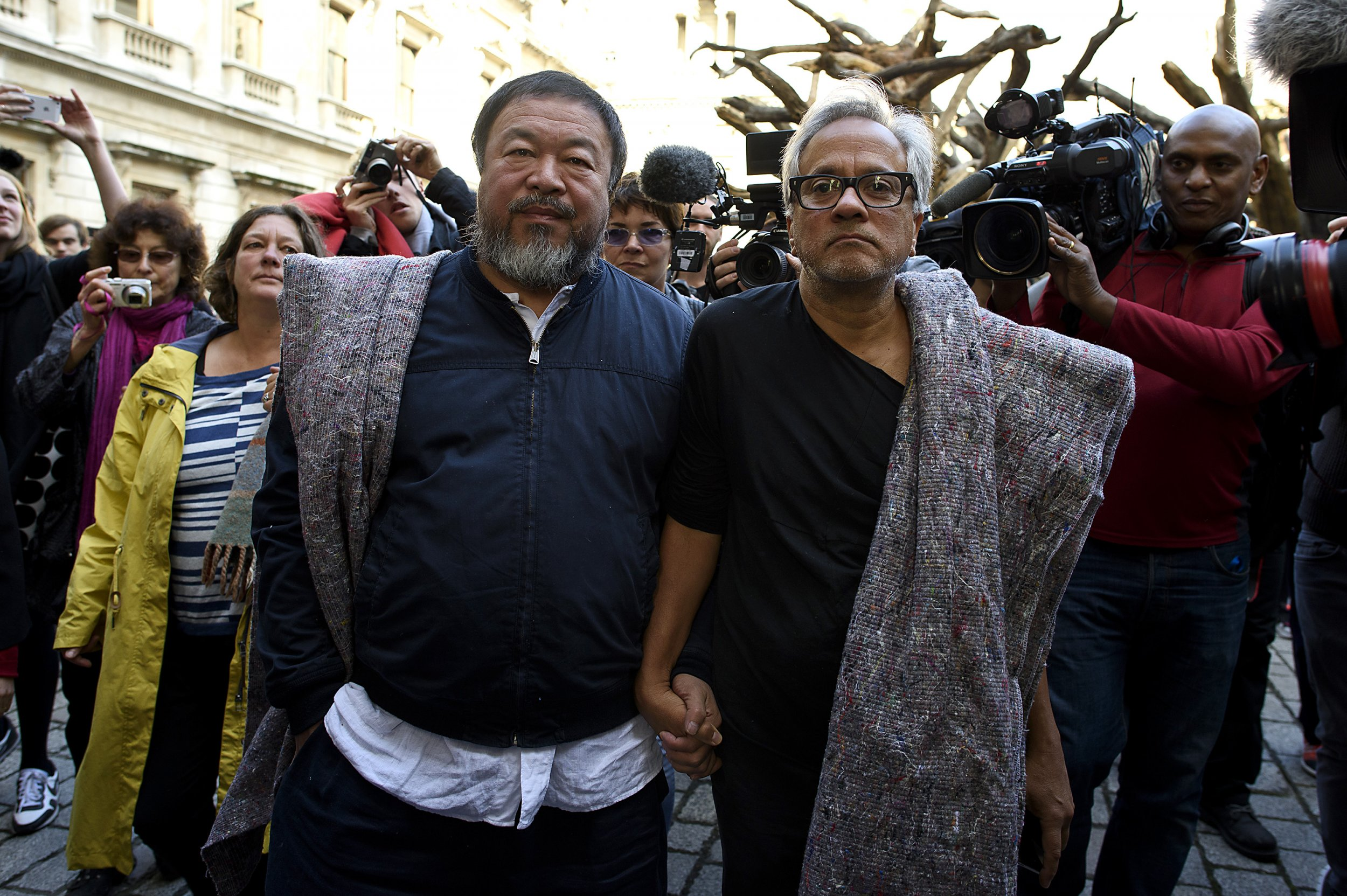 Ai Weiwei and Anish Kapoor