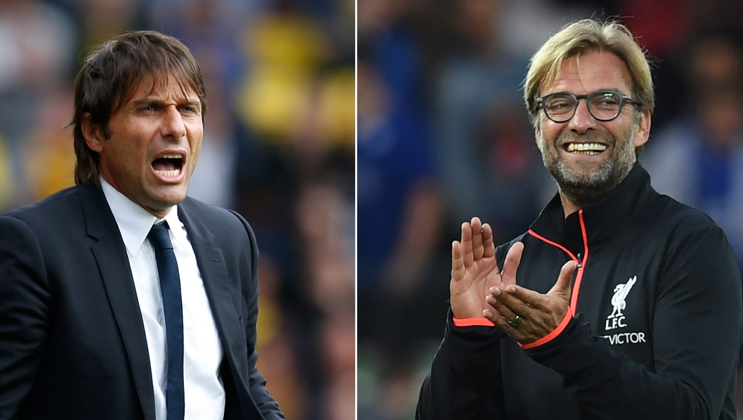 Conte and Klopp