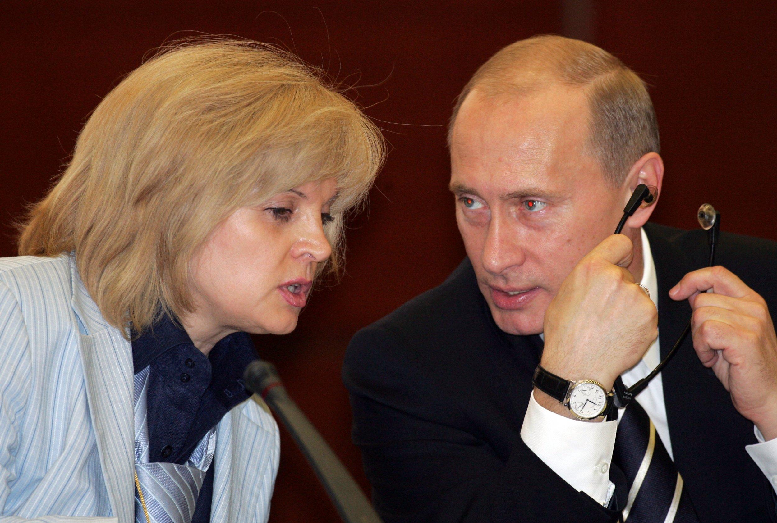 Pamfilova and Putin