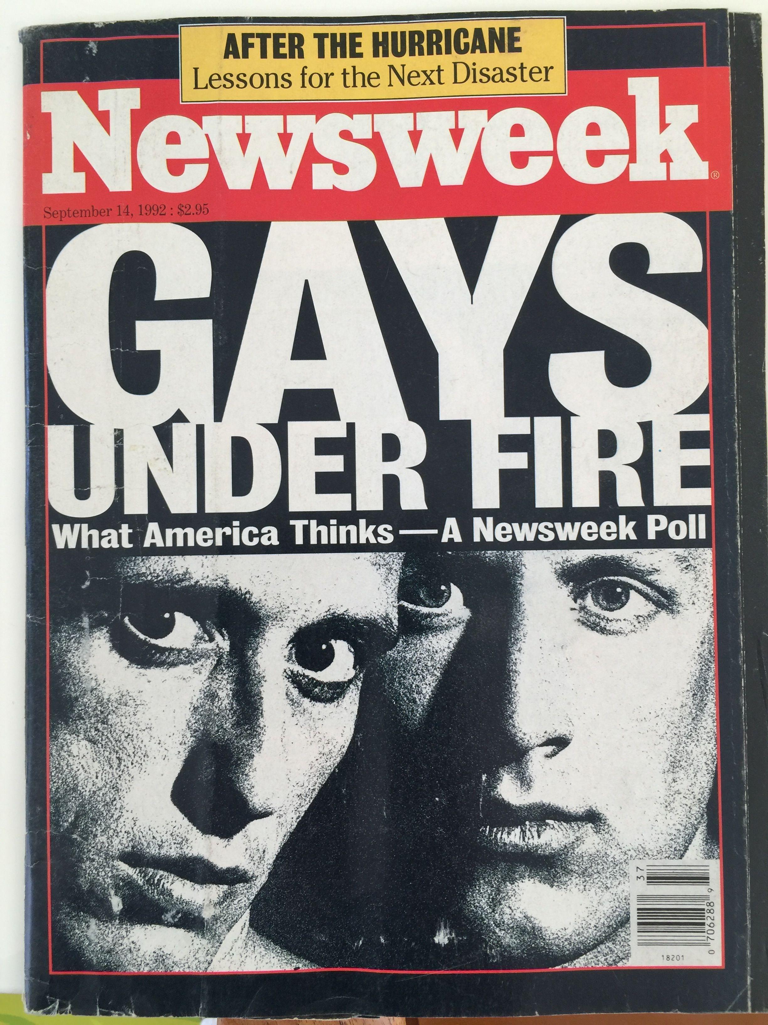 NewsweekGaysUnderFire