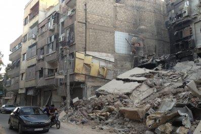 Syria's Douma chemical weapons.