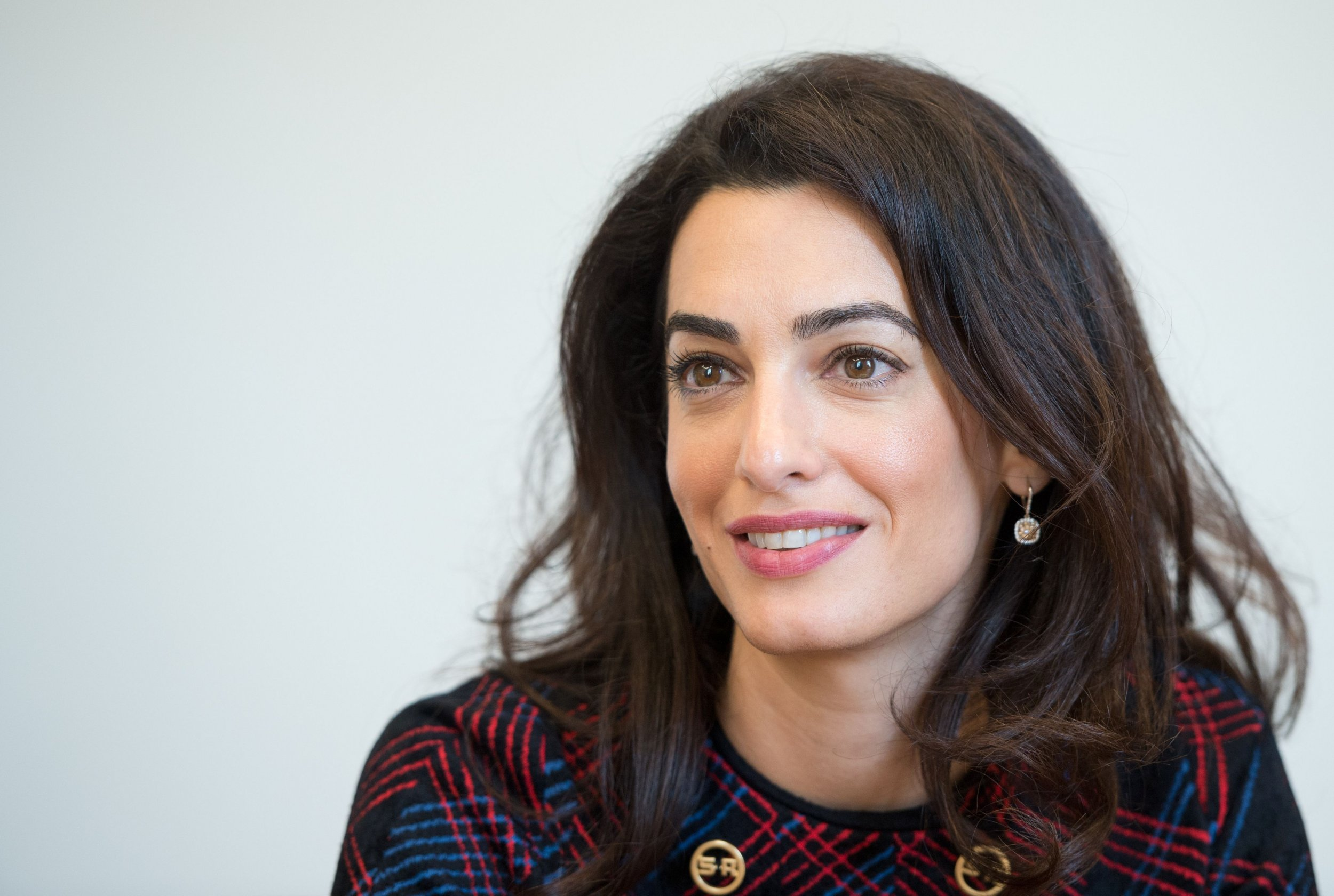 Amal Clooney talks about plight of Yazidis