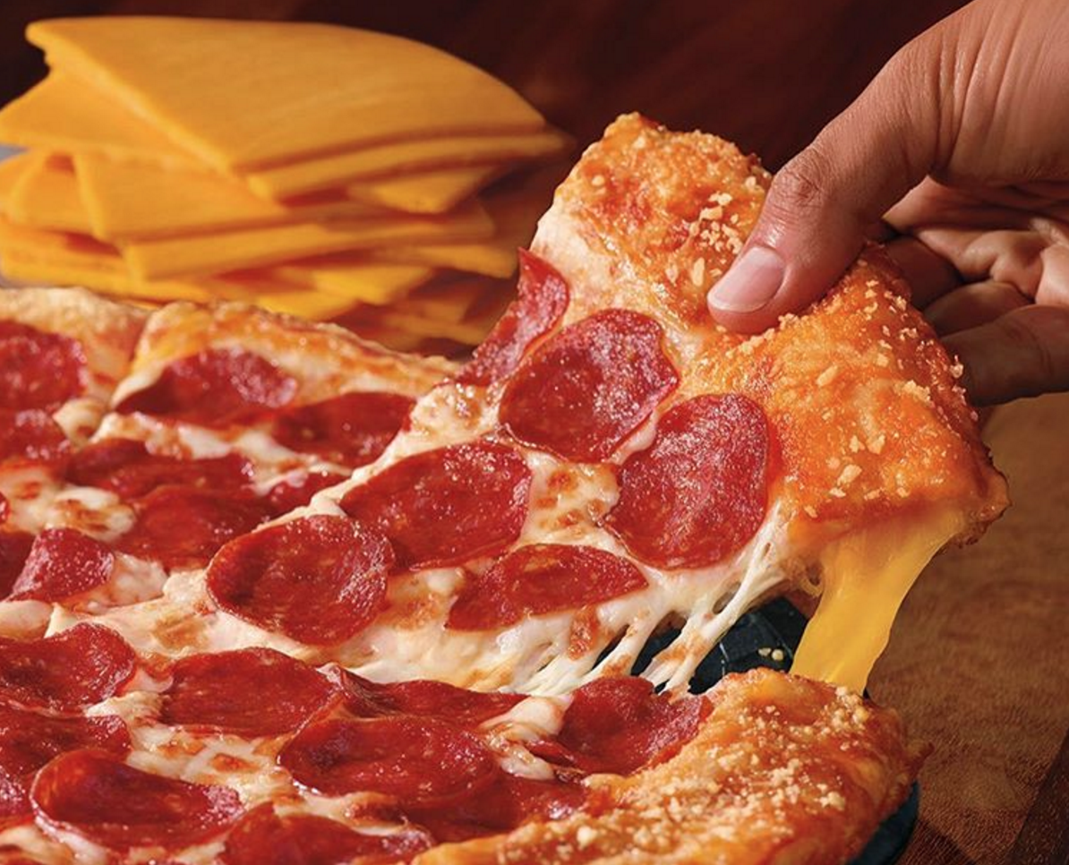 Pizza Hut Has Unveiled A Grilled Cheese Pizza Because Why