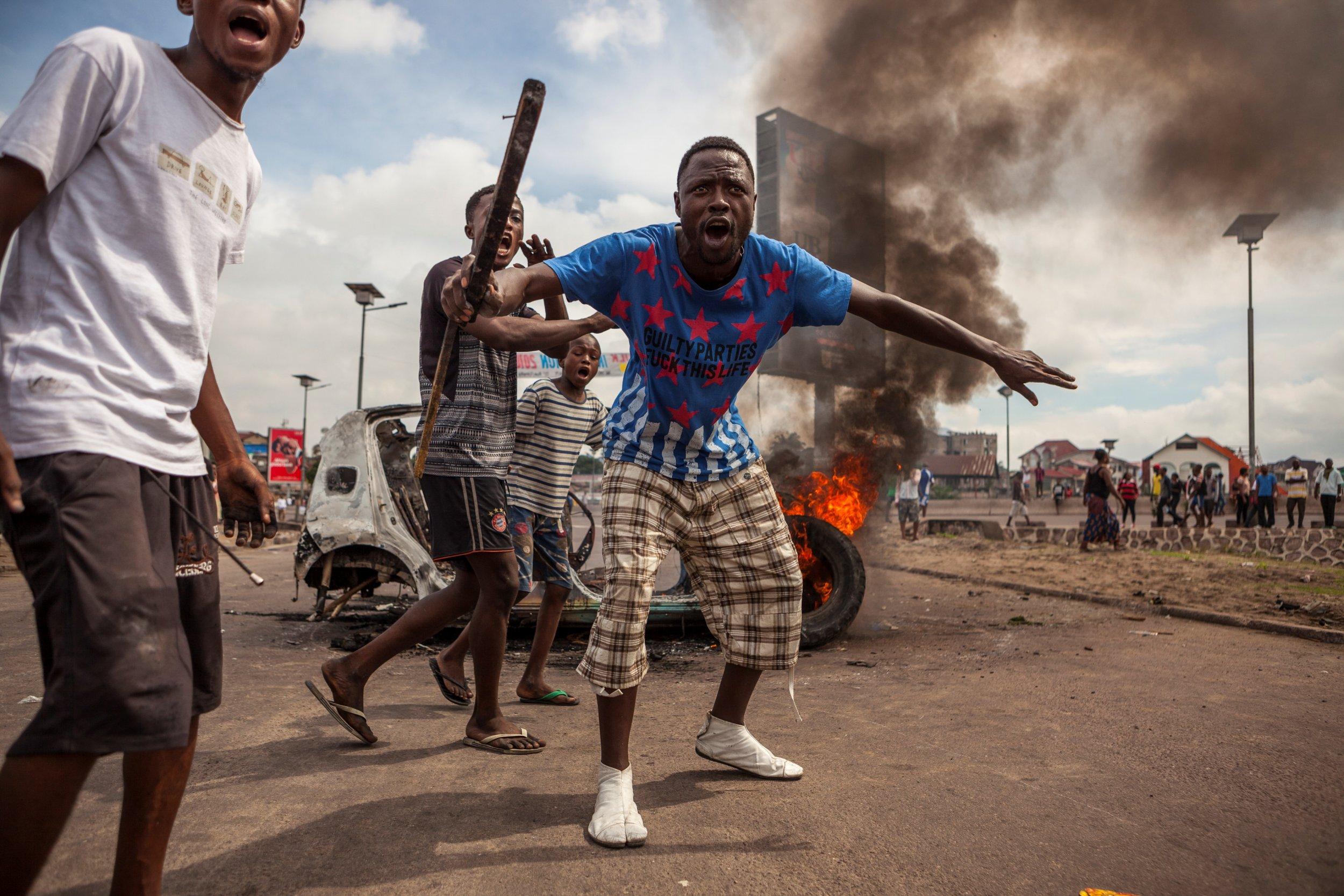 Congo protesters