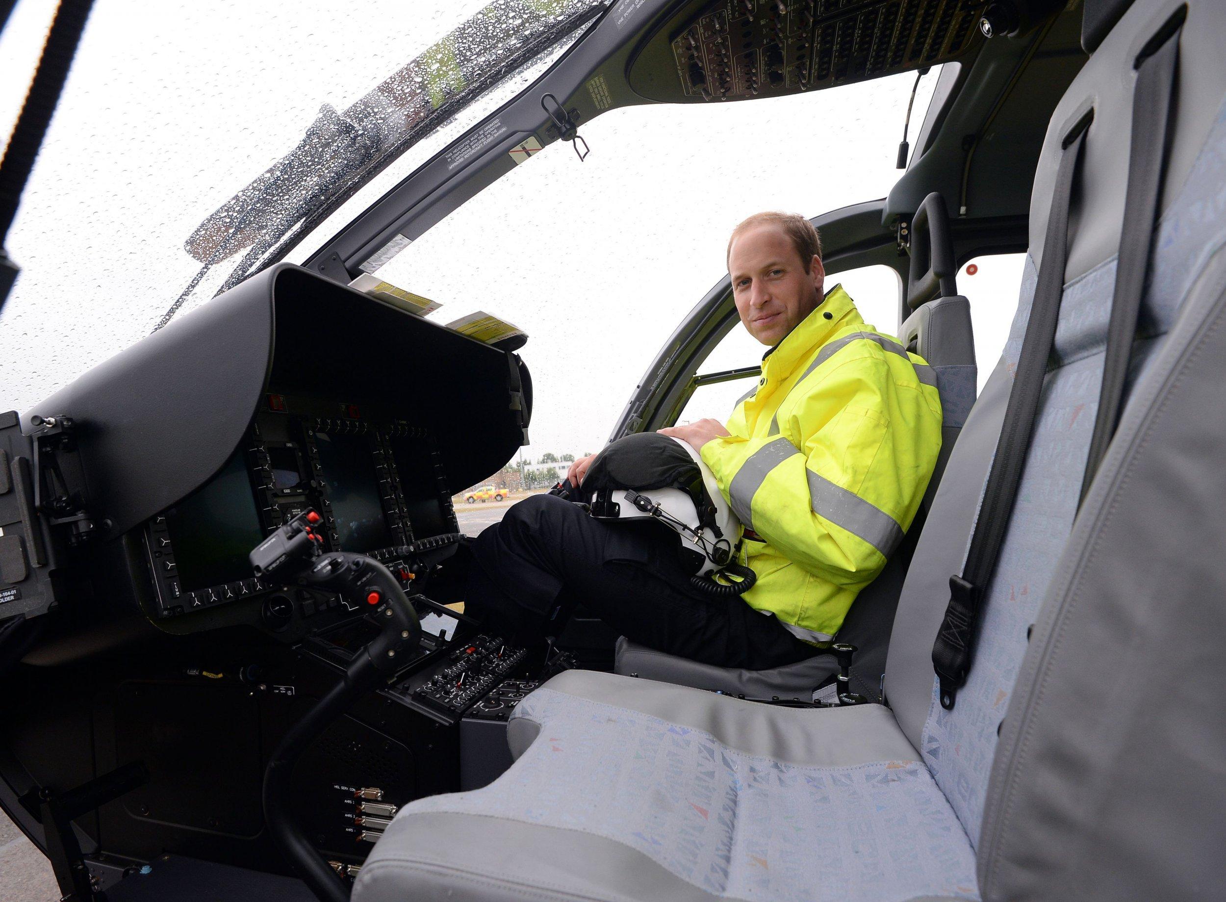 Prince William pilot