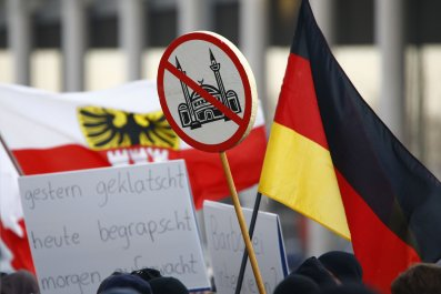 Germany Anti-Migrant Protests