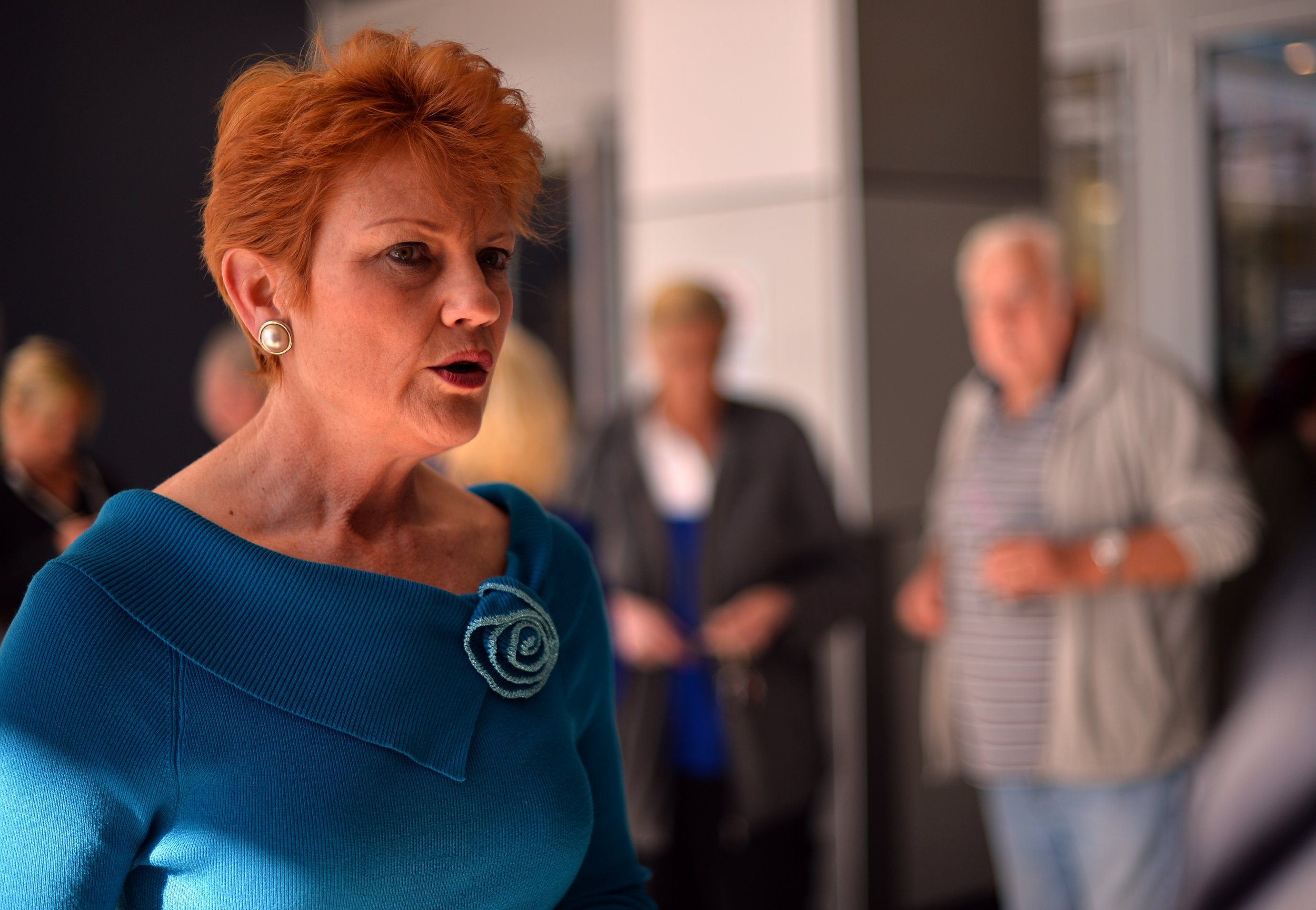 Australia's One Nation leader Pauline Hanson