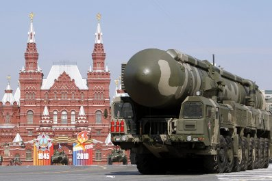 Russian missile launcher