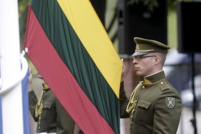 Lithuanian soldier