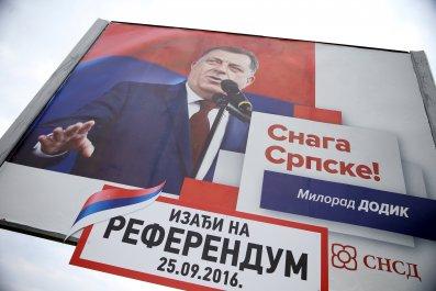 Serbian Referendum Bosnia