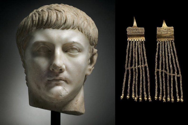 Bronze Age earrings