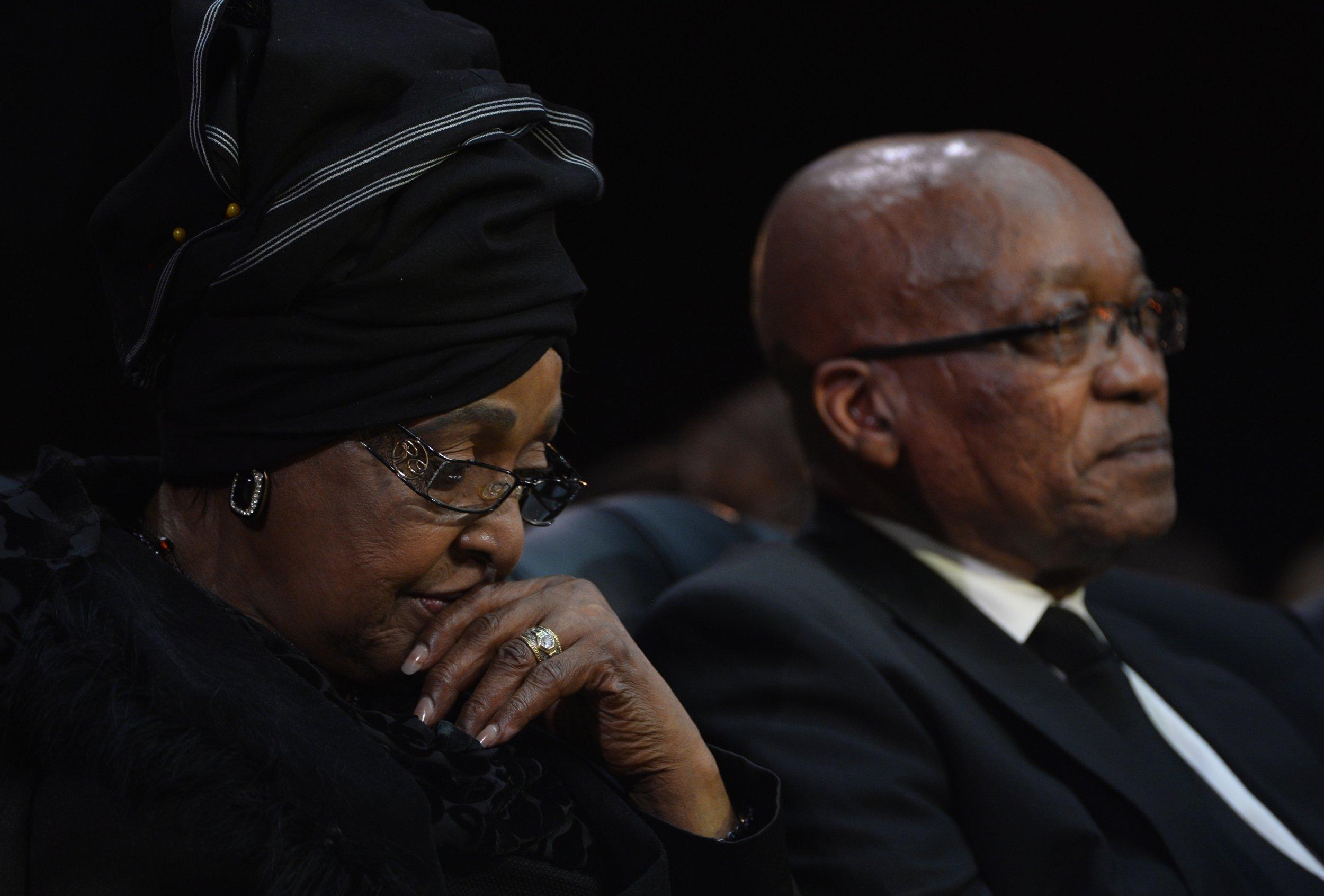Winnie Mandela and Jacob Zuma