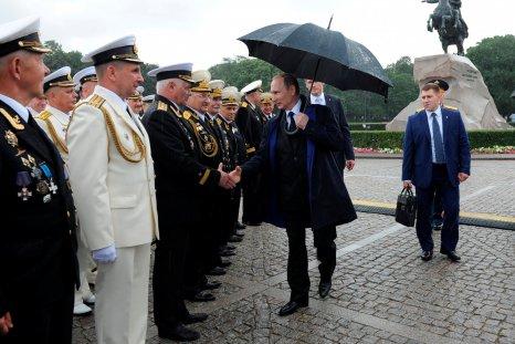Putin and Naval veterans