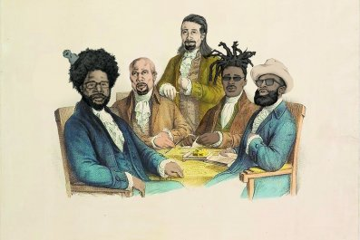 Hamilton Cabinet Illo