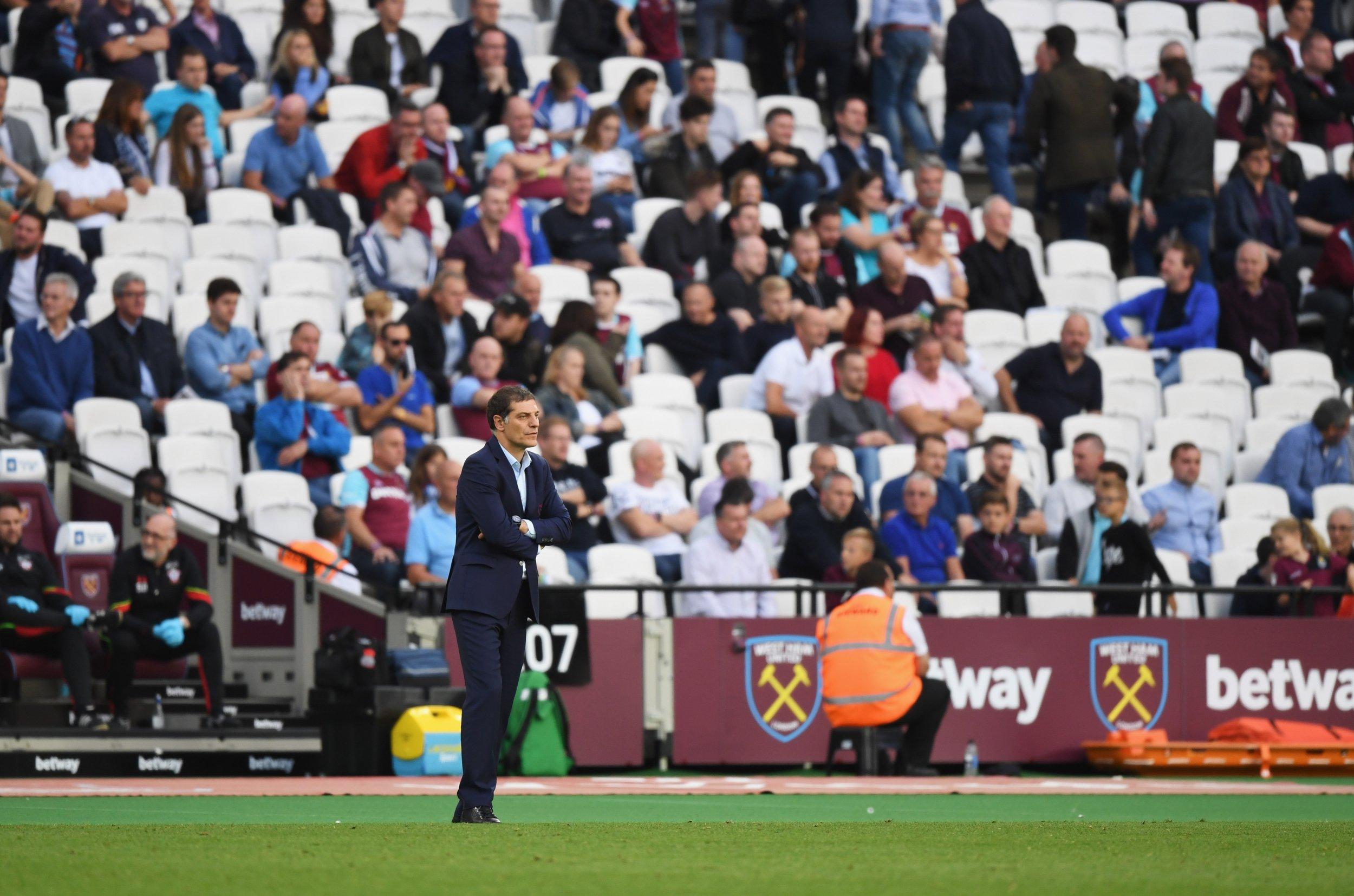 West Ham United manager Slaven Bilic.
