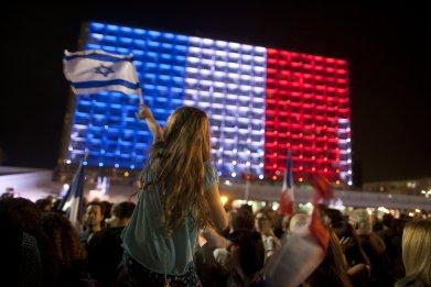 Israel's Rabin Square in Tel Aviv