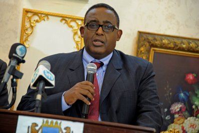 Somali Prime Minister Sharmarke