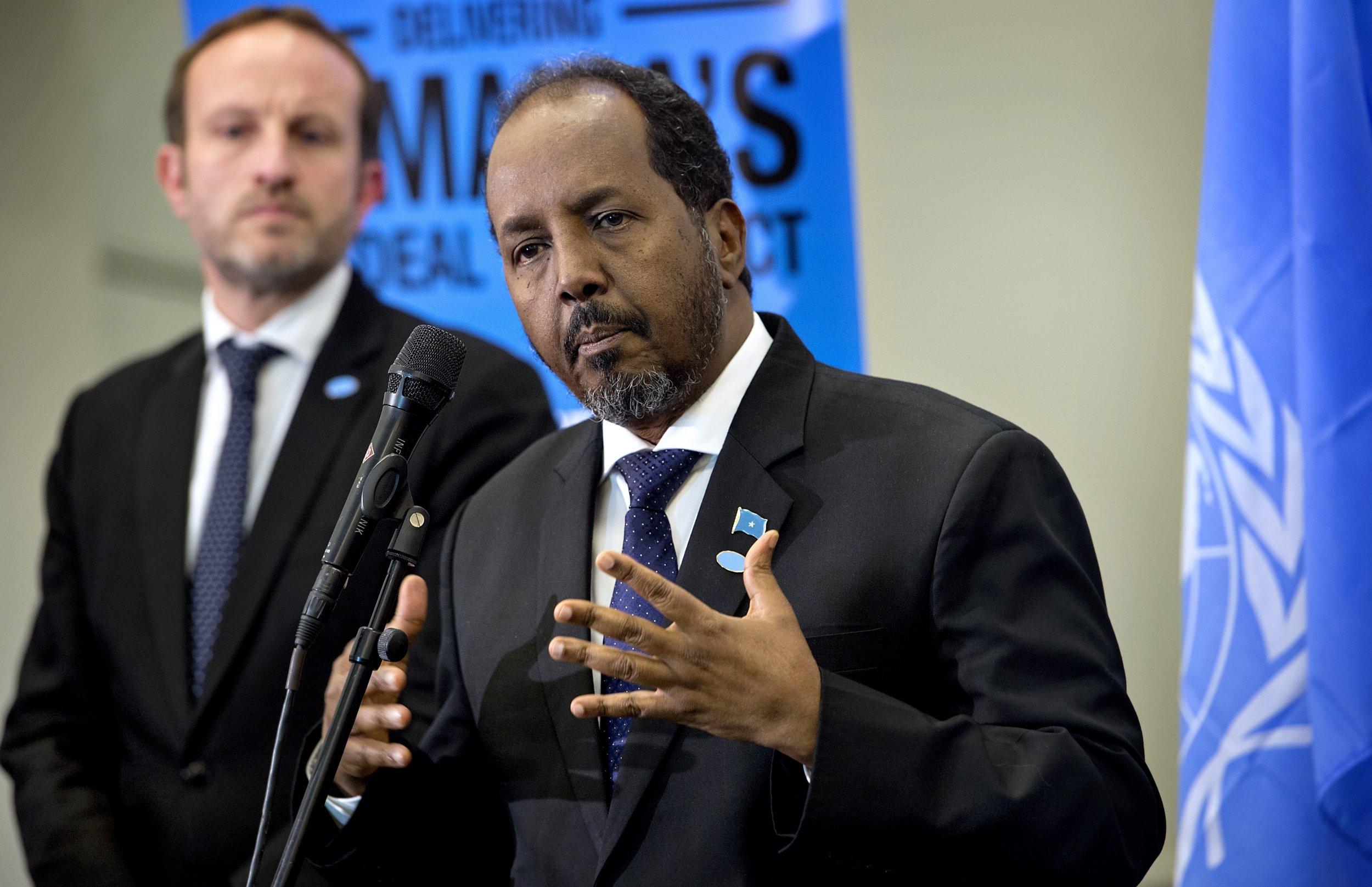 Exclusive: Somalia President Hassan Sheikh Mohamud Tells Newsweek