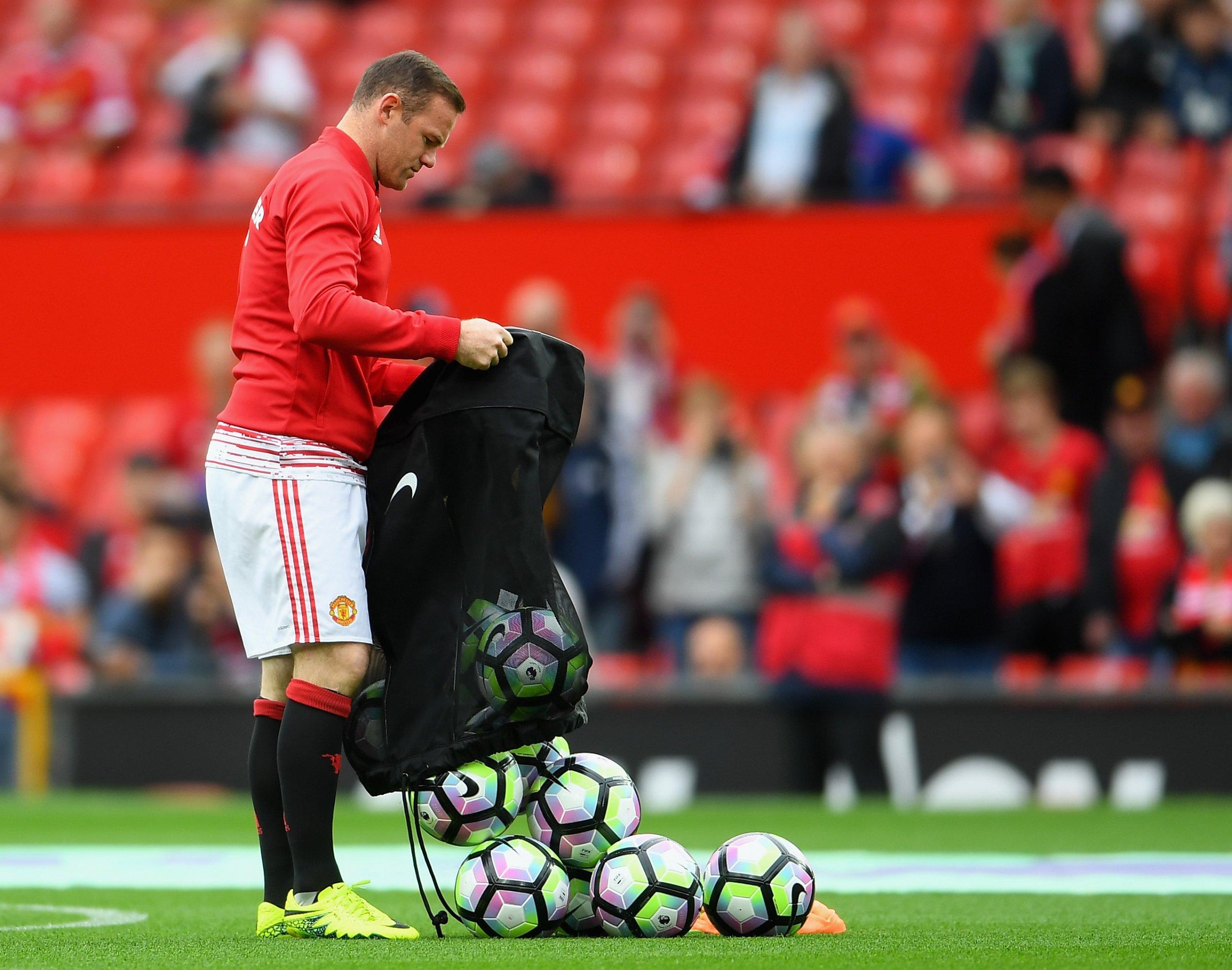 Manchester United club captain Wayne Rooney
