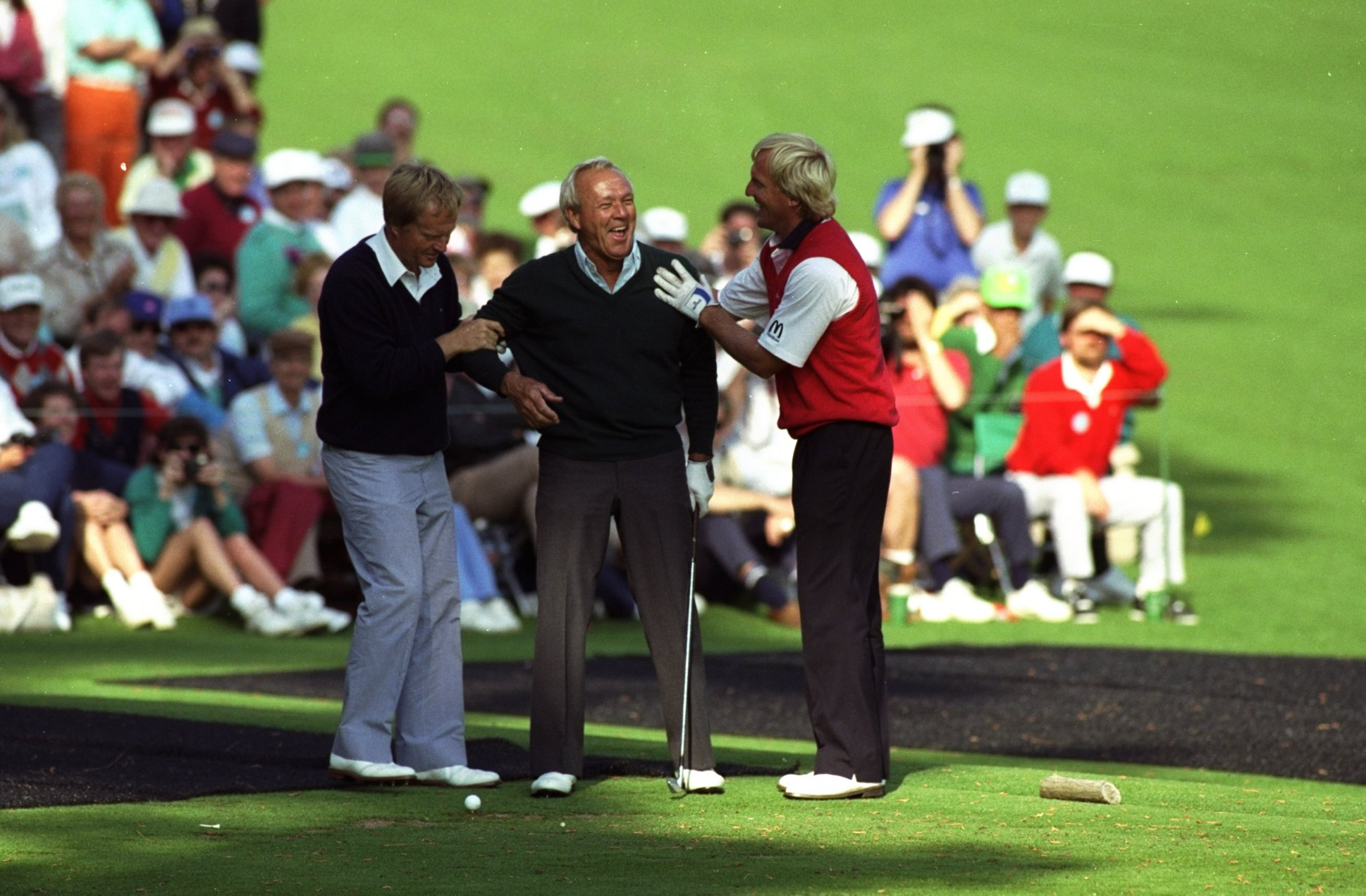 Nicklaus, Palmer and Norman