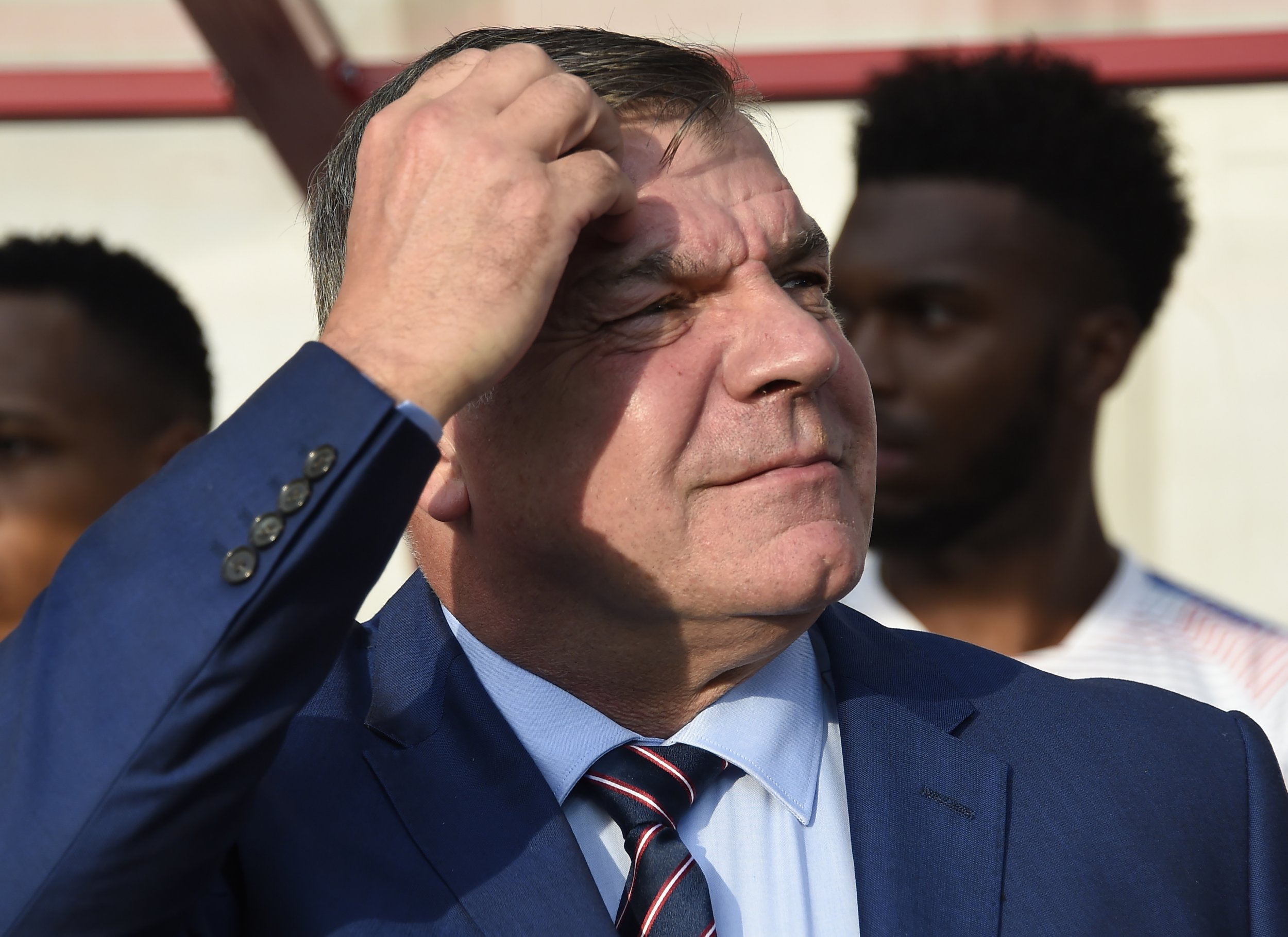 England manager Sam Allardyce.