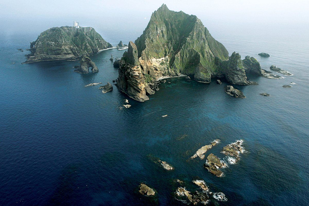 Why Japan and South Korea Are Feuding Over a Cluster of Rocks