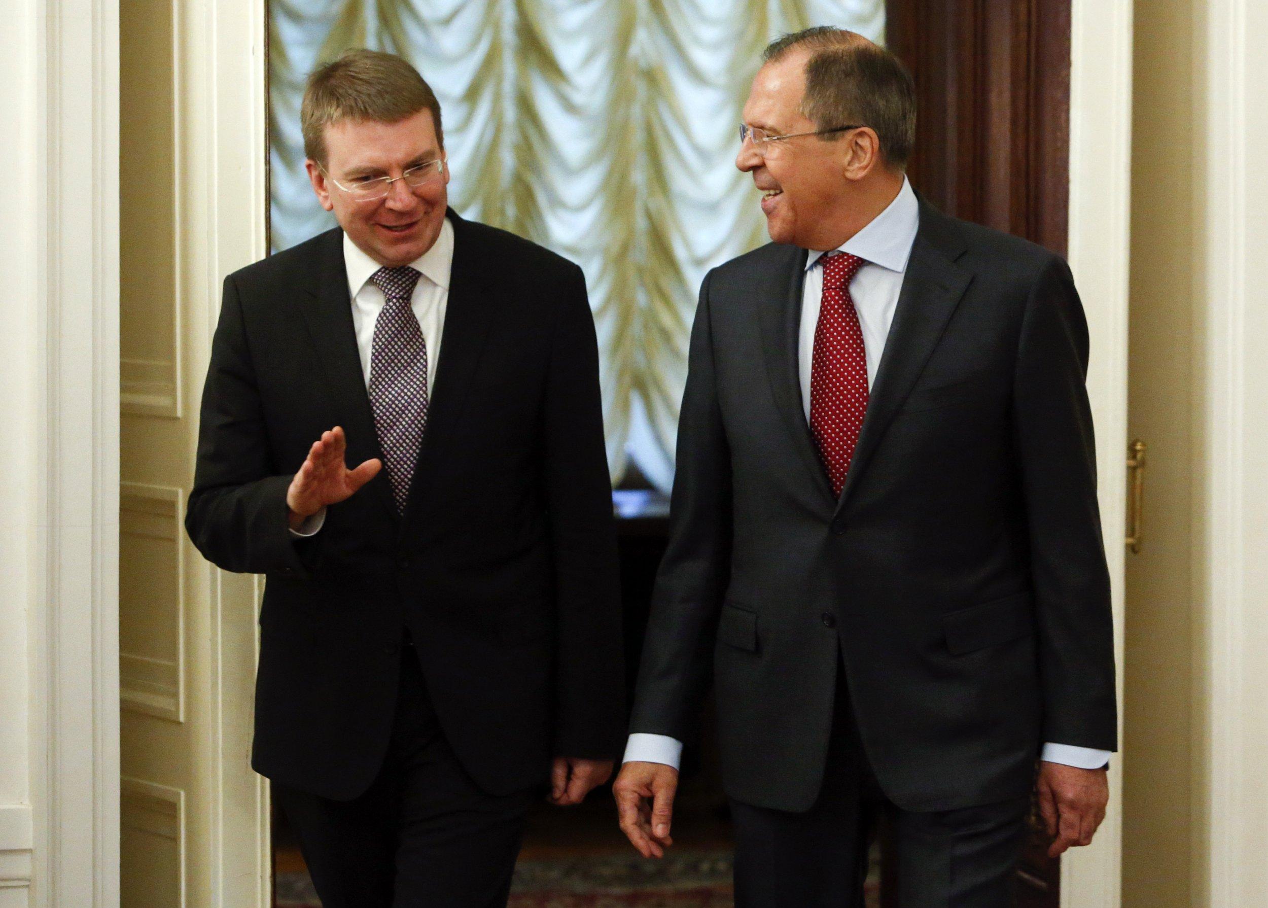 Rinkevics and Lavrov