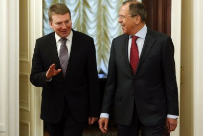 Rinkevics and Lavrov