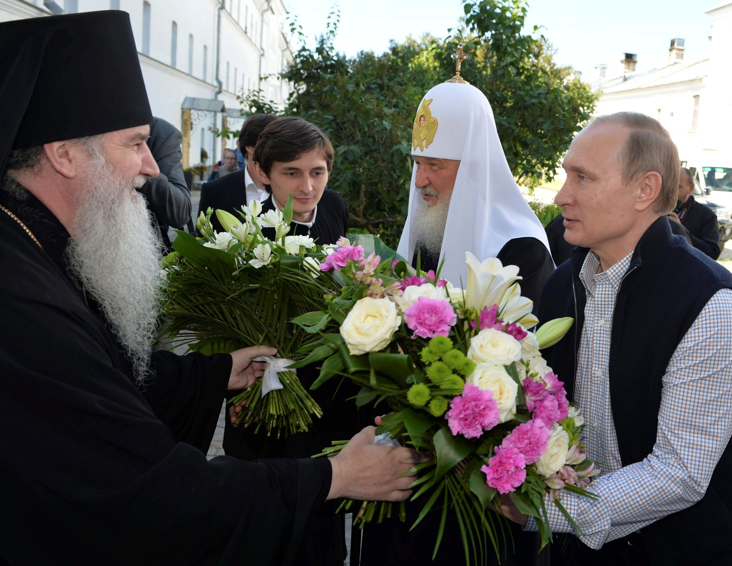 Vladimir Putin and Patriarch Kirill